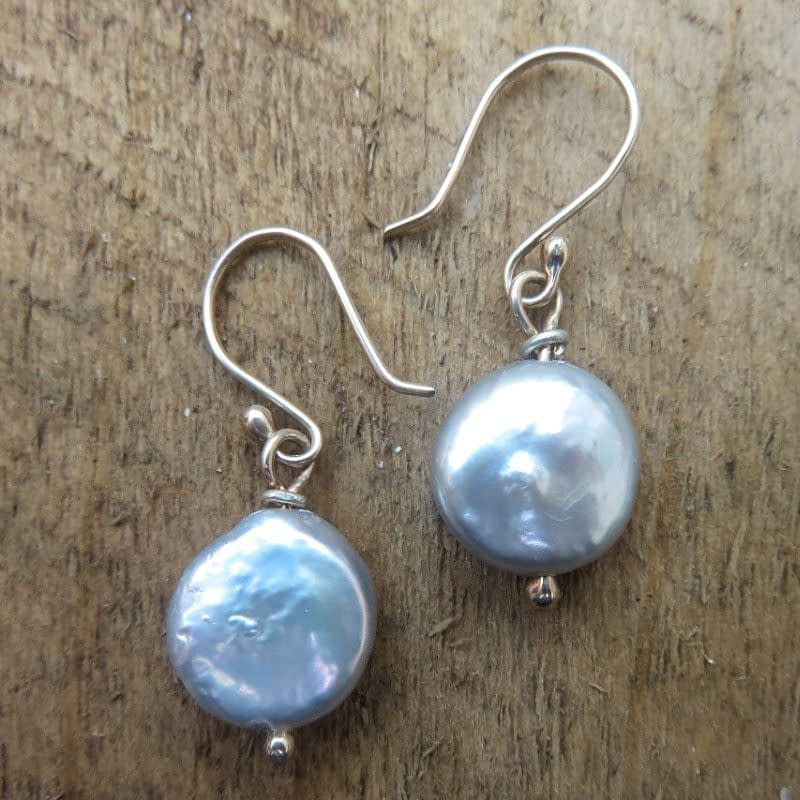 Freshwater Pearls with 9ct Gold Earrings